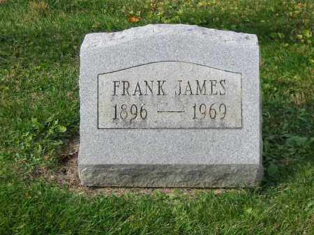 JAMES, FRANK - Stark County, Ohio | FRANK JAMES - Ohio Gravestone Photos