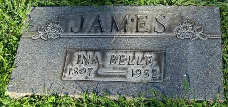 JAMES, INA BELLE - Stark County, Ohio | INA BELLE JAMES - Ohio Gravestone Photos