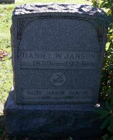 BABCOX JANSON, DAISY - Stark County, Ohio | DAISY BABCOX JANSON - Ohio Gravestone Photos