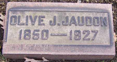 JAUDON, OLIVE J. - Stark County, Ohio | OLIVE J. JAUDON - Ohio Gravestone Photos