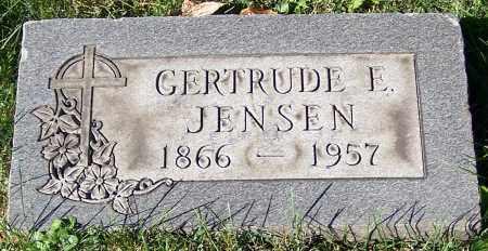 JENSEN, GERTRUDE E. - Stark County, Ohio | GERTRUDE E. JENSEN - Ohio Gravestone Photos