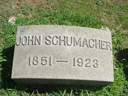 SCHUMACHER, JOHN - Stark County, Ohio | JOHN SCHUMACHER - Ohio Gravestone Photos
