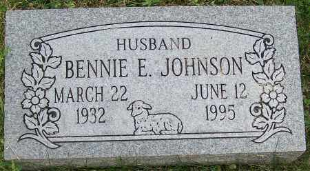 JOHNSON, BENNIE E. - Stark County, Ohio | BENNIE E. JOHNSON - Ohio Gravestone Photos