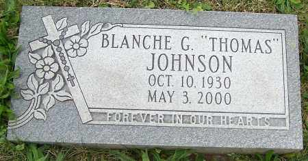 THOMAS JOHNSON, BLANCHE G. - Stark County, Ohio | BLANCHE G. THOMAS JOHNSON - Ohio Gravestone Photos