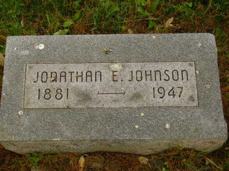 JOHNSON, JONATHAN E. - Stark County, Ohio | JONATHAN E. JOHNSON - Ohio Gravestone Photos