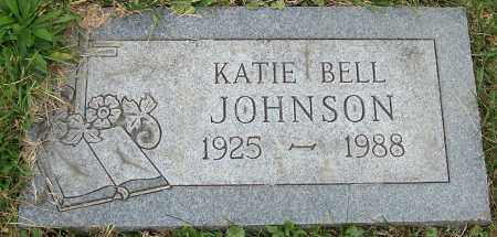 JOHNSON, KATIE BELL - Stark County, Ohio | KATIE BELL JOHNSON - Ohio Gravestone Photos
