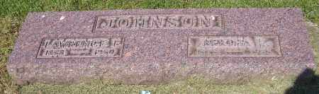 JOHNSON, LAWRENCE E. - Stark County, Ohio | LAWRENCE E. JOHNSON - Ohio Gravestone Photos