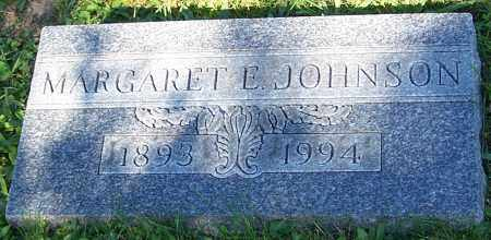 JOHNSON, MARGARET E. - Stark County, Ohio | MARGARET E. JOHNSON - Ohio Gravestone Photos