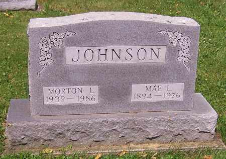 JOHNSON, MAE L. - Stark County, Ohio | MAE L. JOHNSON - Ohio Gravestone Photos