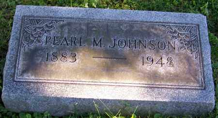 JOHNSON, PEARL M. - Stark County, Ohio | PEARL M. JOHNSON - Ohio Gravestone Photos