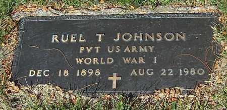 JOHNSON, RUEL T. - Stark County, Ohio | RUEL T. JOHNSON - Ohio Gravestone Photos