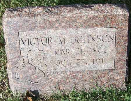 JOHNSON, VICTOR M. - Stark County, Ohio | VICTOR M. JOHNSON - Ohio Gravestone Photos