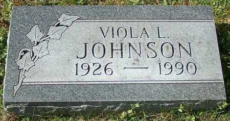 JOHNSON, VIOLA L. - Stark County, Ohio | VIOLA L. JOHNSON - Ohio Gravestone Photos
