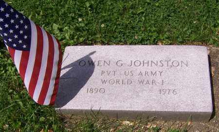 JOHNSTON,, OWEN G. - Stark County, Ohio | OWEN G. JOHNSTON, - Ohio Gravestone Photos
