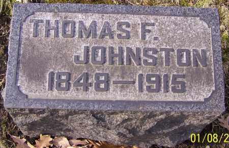 JOHNSTON, THOMAS F. - Stark County, Ohio | THOMAS F. JOHNSTON - Ohio Gravestone Photos