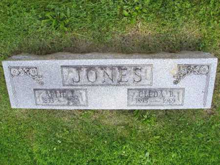 JONES, CLEDA B. - Stark County, Ohio | CLEDA B. JONES - Ohio Gravestone Photos