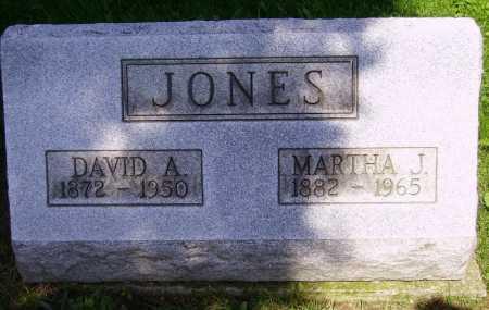 JONES, MARTHA J. - Stark County, Ohio | MARTHA J. JONES - Ohio Gravestone Photos