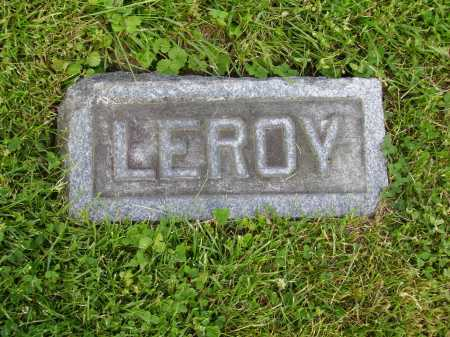 JONES, LEROY - Stark County, Ohio | LEROY JONES - Ohio Gravestone Photos