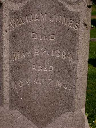 JONES, WILLIAM - Stark County, Ohio | WILLIAM JONES - Ohio Gravestone Photos