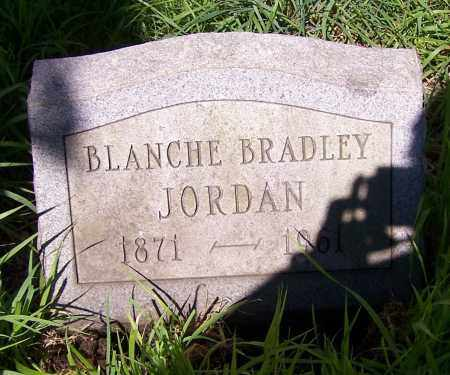 JORDAN, BLANCHE BRADLEY - Stark County, Ohio | BLANCHE BRADLEY JORDAN - Ohio Gravestone Photos