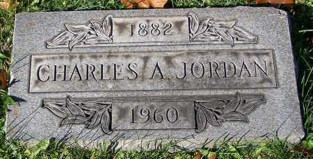 JORDAN, CHARLES A. - Stark County, Ohio | CHARLES A. JORDAN - Ohio Gravestone Photos