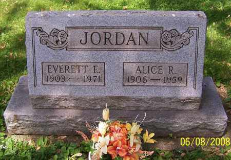 JORDAN, EVERETT E. - Stark County, Ohio | EVERETT E. JORDAN - Ohio Gravestone Photos