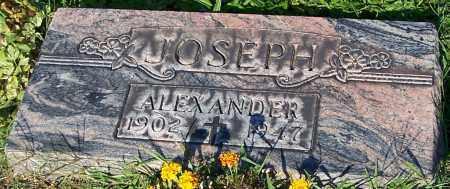 JOSEPH, ALEXANDER - Stark County, Ohio | ALEXANDER JOSEPH - Ohio Gravestone Photos