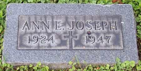 JOSEPH, ANN E. - Stark County, Ohio | ANN E. JOSEPH - Ohio Gravestone Photos