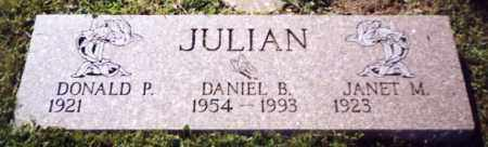 JULIAN, DANIEL B. - Stark County, Ohio | DANIEL B. JULIAN - Ohio Gravestone Photos