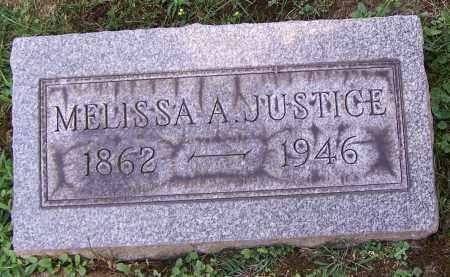 JUSTICE, MELISSA A. - Stark County, Ohio | MELISSA A. JUSTICE - Ohio Gravestone Photos