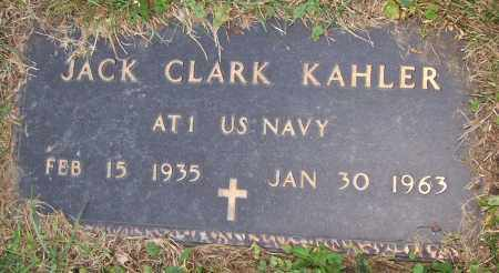 KAHLER, JACK CLARK - Stark County, Ohio | JACK CLARK KAHLER - Ohio Gravestone Photos