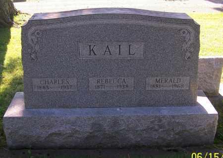 KAIL, REBECCA - Stark County, Ohio | REBECCA KAIL - Ohio Gravestone Photos