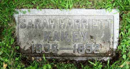 KAILEY, SARAH HARRIETT - Stark County, Ohio | SARAH HARRIETT KAILEY - Ohio Gravestone Photos
