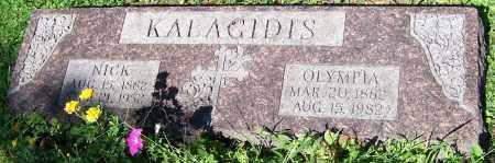 KALACIDIS, OLYMPIA - Stark County, Ohio | OLYMPIA KALACIDIS - Ohio Gravestone Photos