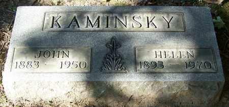 KAMINSKY, JOHN - Stark County, Ohio | JOHN KAMINSKY - Ohio Gravestone Photos