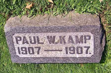 KAMP, PAUL W. - Stark County, Ohio | PAUL W. KAMP - Ohio Gravestone Photos
