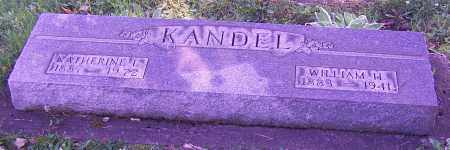 KANDEL, WILLIAM H. - Stark County, Ohio | WILLIAM H. KANDEL - Ohio Gravestone Photos