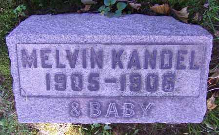 KANDEL, INFANT - Stark County, Ohio | INFANT KANDEL - Ohio Gravestone Photos