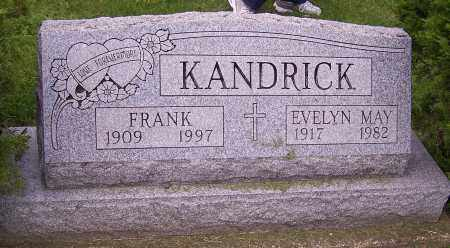 KANDRICK, EVELYN MAY - Stark County, Ohio | EVELYN MAY KANDRICK - Ohio Gravestone Photos