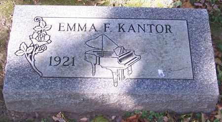 KANTOR, EMMA F. - Stark County, Ohio | EMMA F. KANTOR - Ohio Gravestone Photos