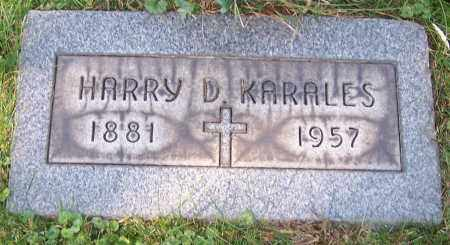 KARALES, HARRY D. - Stark County, Ohio | HARRY D. KARALES - Ohio Gravestone Photos