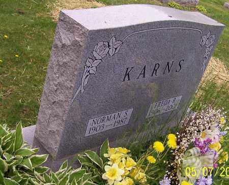 KARNS, FREDA R. - Stark County, Ohio | FREDA R. KARNS - Ohio Gravestone Photos