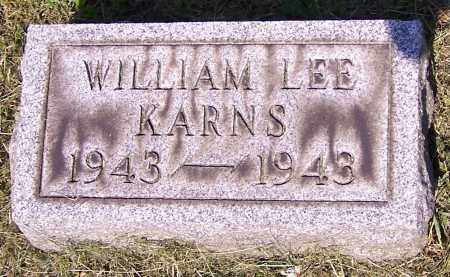 KARNS, WILLIAM LEE - Stark County, Ohio | WILLIAM LEE KARNS - Ohio Gravestone Photos