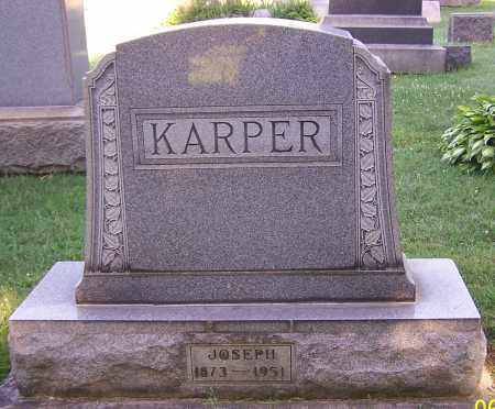 KARPER, JOSEPH - Stark County, Ohio | JOSEPH KARPER - Ohio Gravestone Photos
