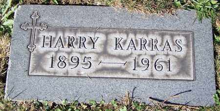 KARRAS, HARRY - Stark County, Ohio | HARRY KARRAS - Ohio Gravestone Photos