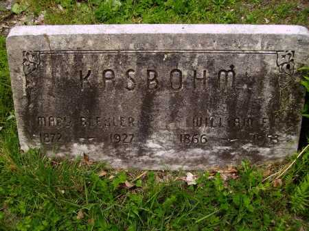 BUSCH KASBOHM, MARY BLEULER - Stark County, Ohio | MARY BLEULER BUSCH KASBOHM - Ohio Gravestone Photos