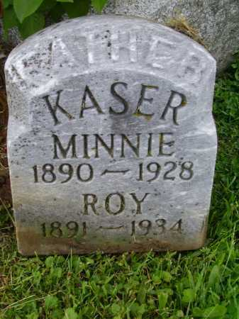 KASER, MINNIE BELLE - Stark County, Ohio | MINNIE BELLE KASER - Ohio Gravestone Photos