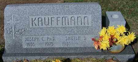 KAUFFMANN, JOSEPH C. (PH.D) - Stark County, Ohio | JOSEPH C. (PH.D) KAUFFMANN - Ohio Gravestone Photos