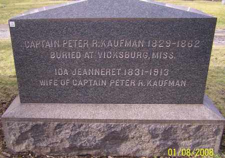KAUFMAN, CAPTAIN PETER R. - Stark County, Ohio | CAPTAIN PETER R. KAUFMAN - Ohio Gravestone Photos