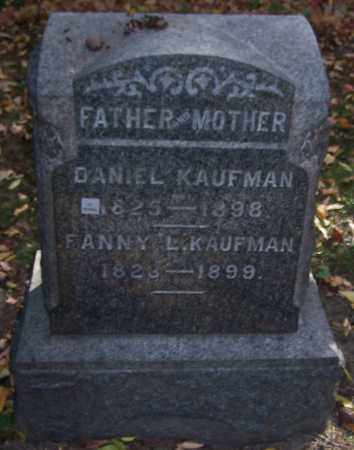 KAUFMAN, DANIEL - Stark County, Ohio | DANIEL KAUFMAN - Ohio Gravestone Photos